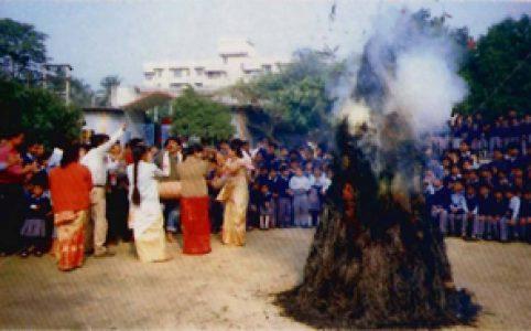 Bhugali Bihu in AJB