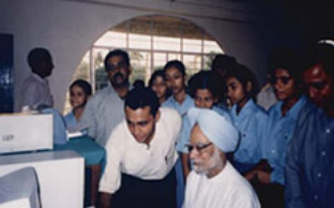 Dr.Manmohan Singh,Former Prime Minister in AJB