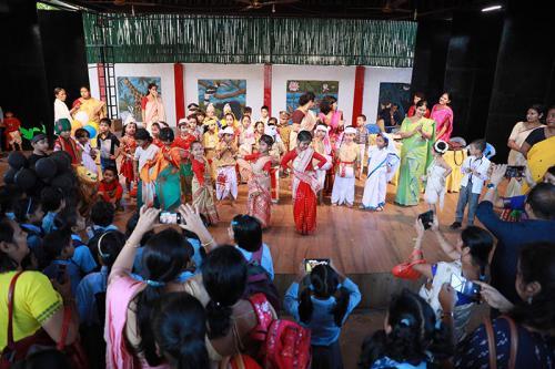 Children's Day Celebration at Assam Jatiya Bidyalay Dated 14th Nov 2019