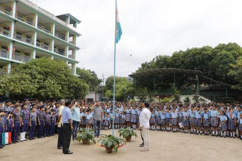 Independence Day Observed at the Premises of AJB 15 August 2019