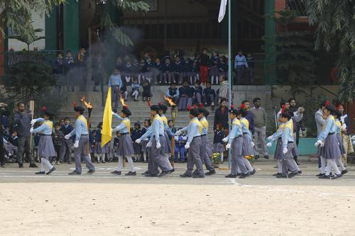 March Past, Sports Week, 2020