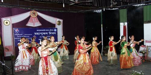 Mahapurush Divas Celebration at Assam Jatiya Bidyalay, Noonmati, 31-08-2018